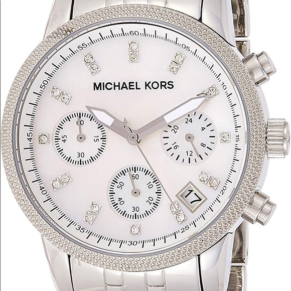 Michael Kors mk5020 mother of pearl watch